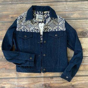 Levi's Denim Fringe Jacket
